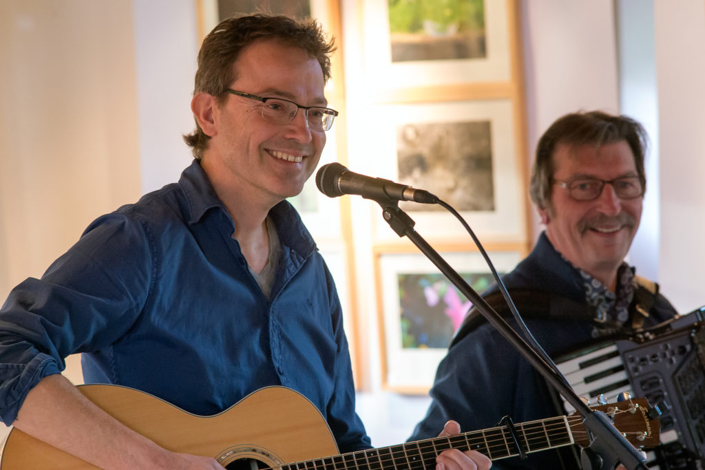 Paul Mulder & Theo Scholten (foto: Arjen Bernard)